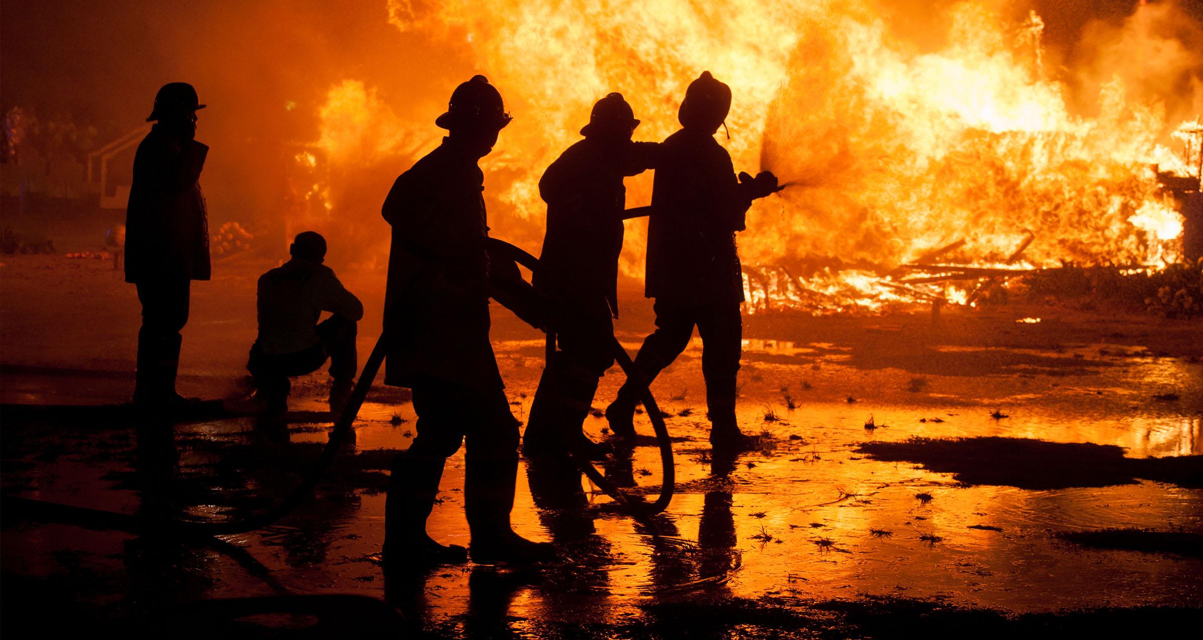 حريق المجتمعات